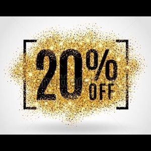 See something you like? 20% off💸
